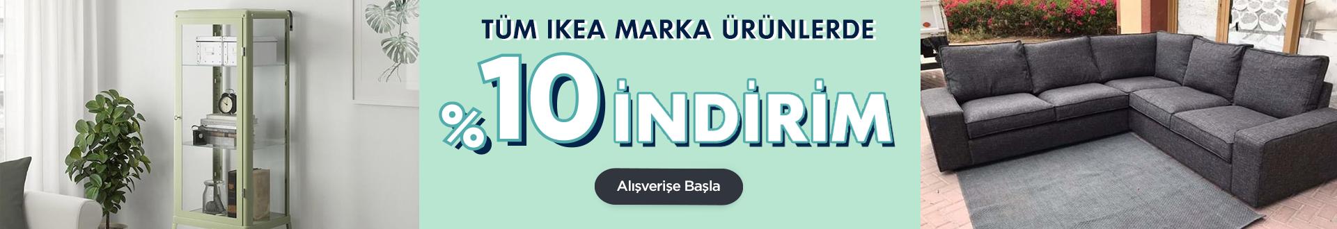 IKEA %10 İndirim