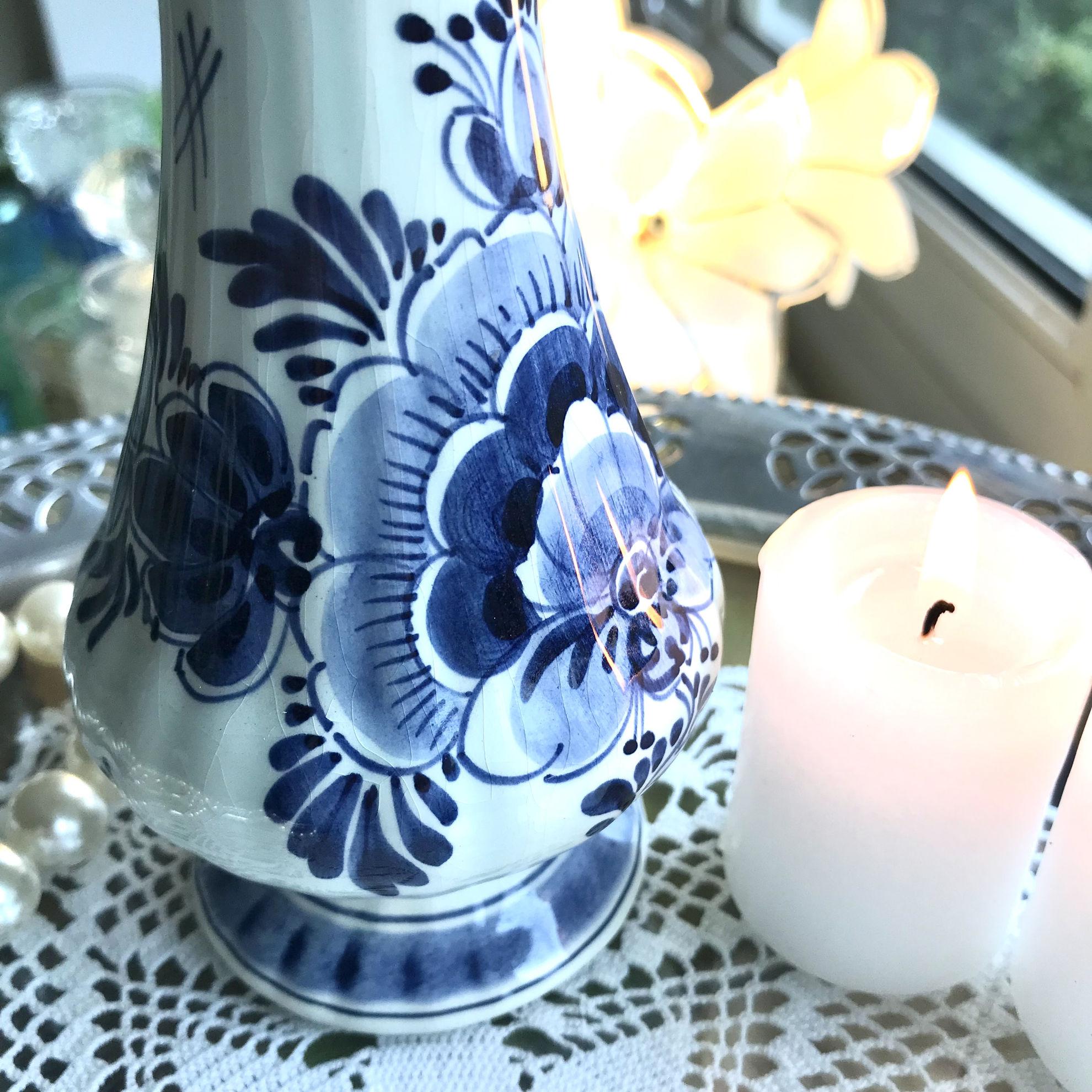 Delft blue vazo resmi