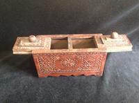 Osmanlı dönem kahve kutusu resmi