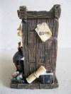 Fotoğraflık, kalemlik , el boyaması dekoratif obje resmi