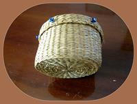 El emeği hasır kutu resmi