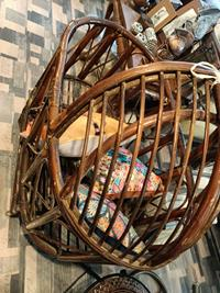 Dekoratif bambu beşik uk-00900 resmi