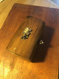 Vintage ahşap  küçük kutu resmi