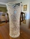 Kristal vintage vazo