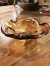 murano bal kül tablası