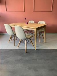 Ağaç masa & pural sandalye  massa design