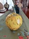 Büyük Murano Elma El Yapımı Etiketli resmi