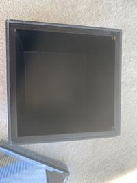 Füme ayna kaplı dekoratif kutu tepsi seti resmi