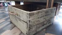 Eski ahşap storage sandık