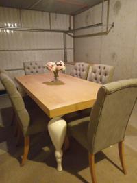 Mudo concept yemek masası ve 6 adet mudo sandalye