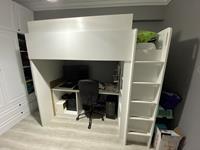 Ikea ranza ve çalışma masası resmi