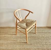 Mudo tarzı iskandinav wishbone pine sandalye