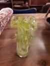 murano vazo açık yeşil