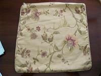 Döşemelik kumaştan kullanılmamış kırlent kılıfı resmi