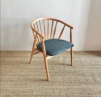 Modern windsor pine sandalye