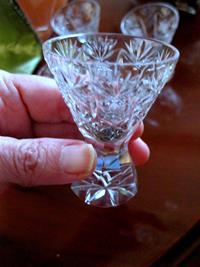 Vintage kristal mini dekoratifler resmi