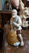 Eskilerden komple elişi porselen biblo