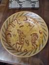 El yapımı dekoratif duvar tabağı