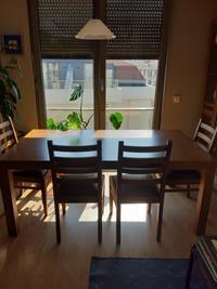 Ceviz masa sandalye takımı