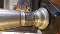 Eskilerden mermer kaideli zinc macar vazo. resmi