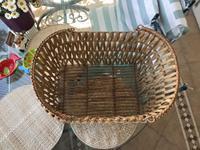 El yapımı bambu sepet resmi