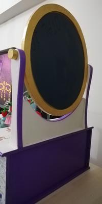 Aynalı 6çekmecelimakyaj kutusu resmi