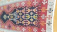 Kilim el dokuma mihraplı resmi