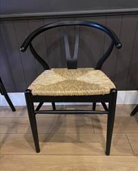 Danish black pine sandalye resmi