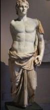 Büyük iskender heykel büst