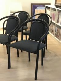 5 adet retro sandalye  resmi