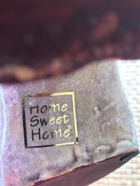 Home sweet home polyester çizme  resmi