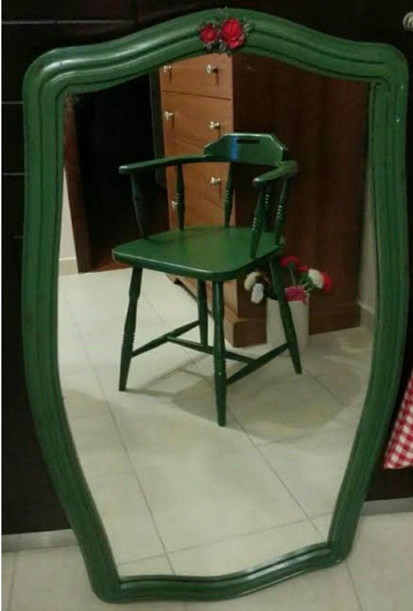 Leaf green antika thonet kaptan koltuk resmi