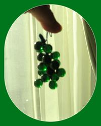 Retro, cam üzüm biblo resmi