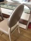İstikbal tuvalet aynası ve sandalye resmi