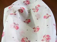 Briz tül mini elma desenli 2 parça resmi