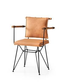 Penyez kahverengi sandalye