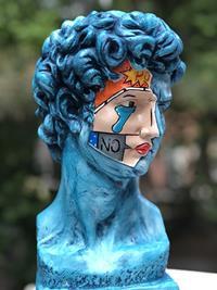 """David """"oceanic"""" heykel, büyük boy heykel, özel tasarım dekoratif heykel, roma, yunan heykelleri resmi"""