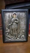 Bizans Kilisenin izni ile yapılmış 950 ayar gümüş ikona