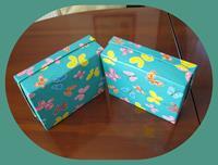 2 adet yeni kelebekli kutu resmi