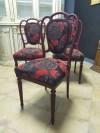 Yenilenmiş Rus Menşei Üç Adet Sandalye