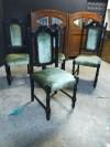 Tamamen Yenilenmiş 4 Adet Kral Sandalye