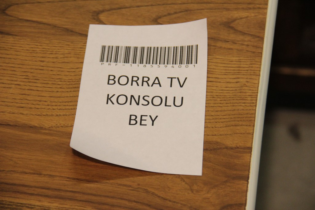 BORRA TV KONSOLU