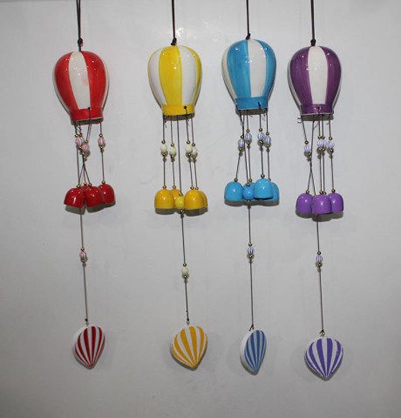 Balon rüzgar çanı (4 adet) resmi