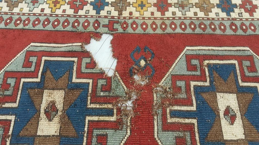 Yarı Antik El Dokuma Halı Defolu resmi