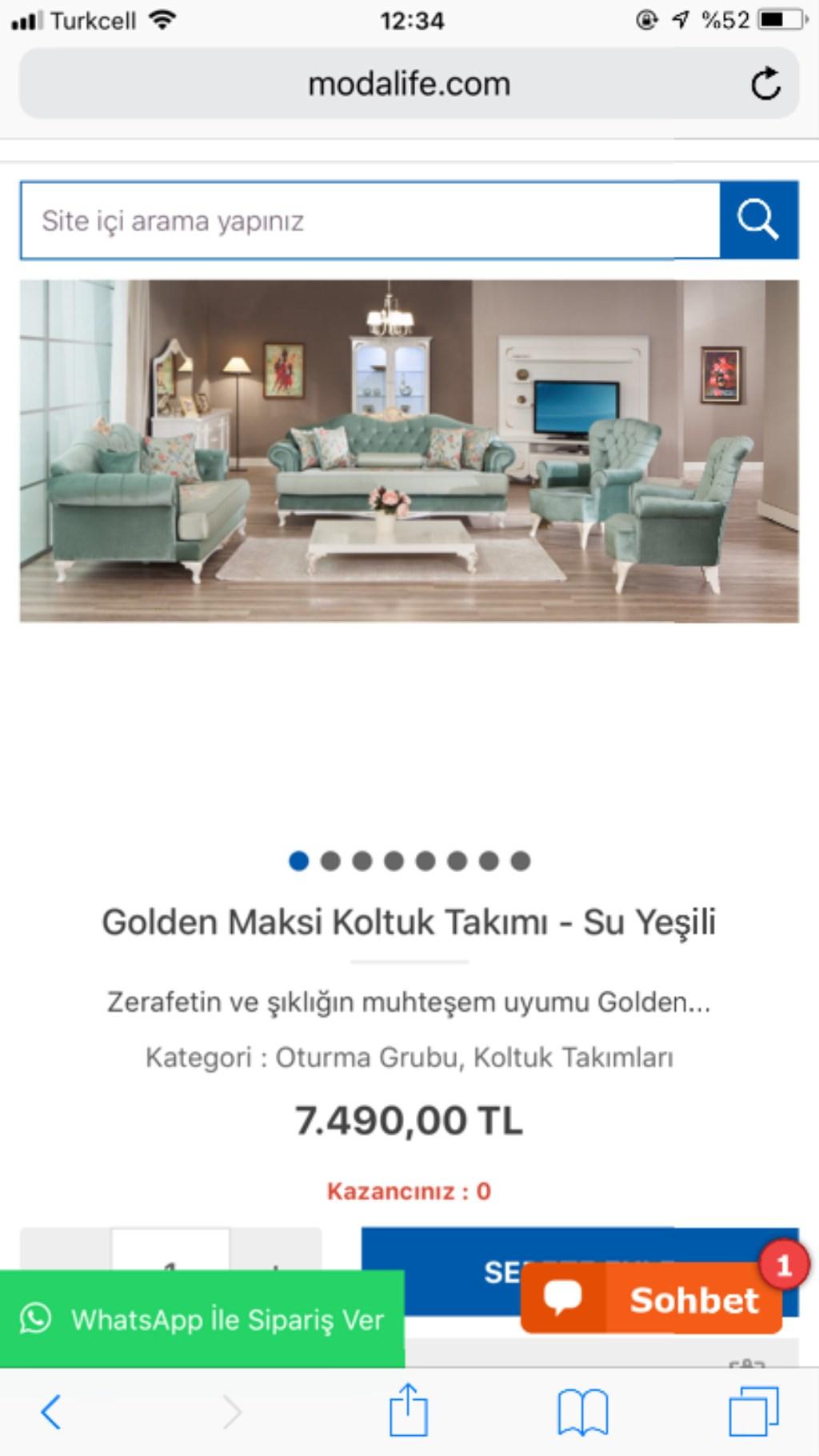 Modalife Golden Serisi Koltuk Takimi Modelleri Ve Fiyati Dekopasaj