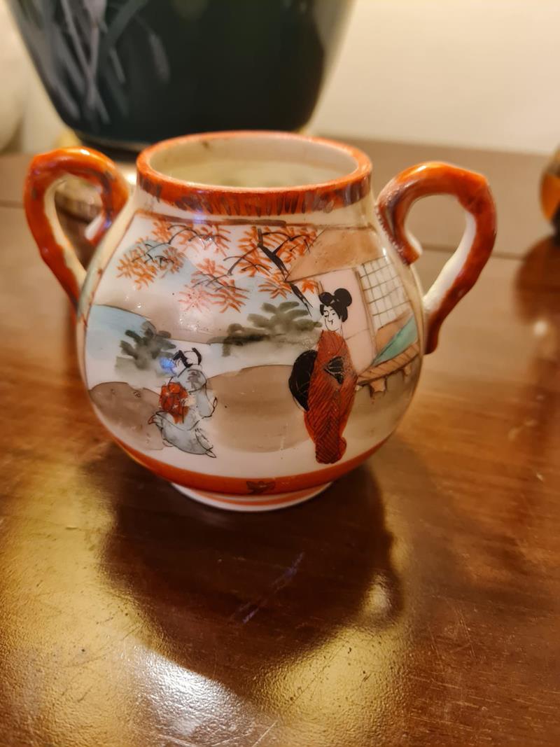 Japon porselen vazo aksesuar resmi
