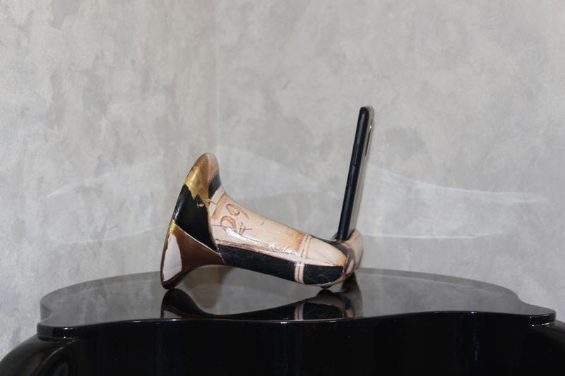 Seramik gramofon  resmi