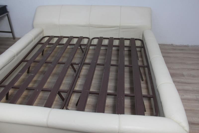 Deri kaplama  yatak çerçevesi 0804-12 resmi