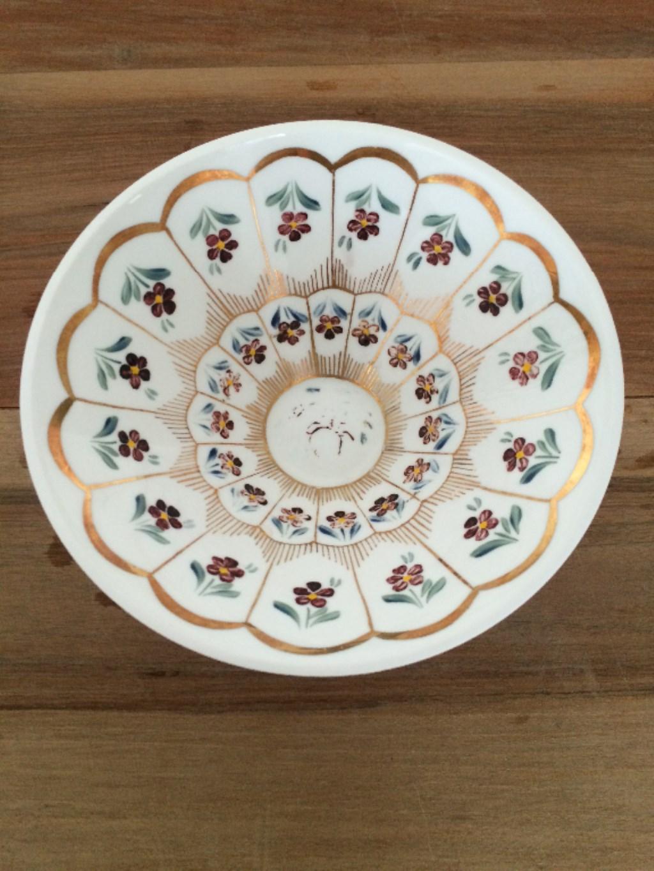 çok Renkli Diğer Paşabahçe El Boyama Dekoratif Kase Kullanılmış