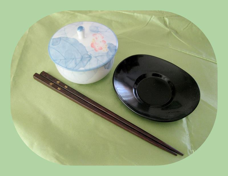 Japon, vintage koleksiyonluk porselen obje resmi